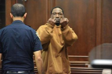 Robert Sims and Reginald Chance were arraigned in Manhattan Criminal Court over the weekend on charges they attacked SUV driver Alexian Lien in front of his wife and child.