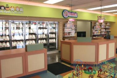 Stores run by Mother's Nutritional Center offer healthy and affordable food products.