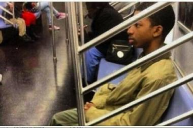 Police have confirmed that this photo that emerged online is not that of missing teenager Avonte Oquendo.