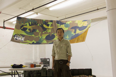 Staten Island artist Tattfoo Tan has collaborated with Staten Island Arts and ecoartspace to raise funds for his new exhibit promoting living greener at the St. George Ferry Terminal.