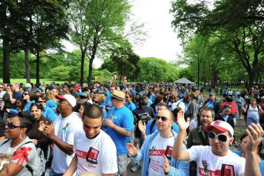 The AIDS Walk is pulling in less fundraising money than expected, sources said.