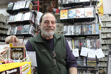 From adding a bar to renting to TV stations looking for hard-to-find clips, the city's last remaining video rental stores are doing whatever it takes to stay relevant.