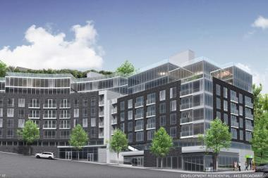 HAP Investments is looking to build a seven-story apartment complex at 4452 Broadway.