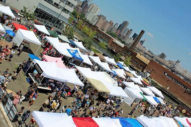 LIC Flea & Food, an outdoor flea market that debuted this summer on the Long Island City waterfront is moving indoors for the holidays.