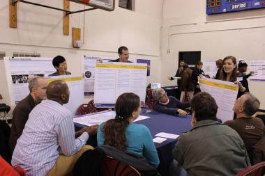 Community members gathered Tuesday night for the second New York Rising public meeting to discuss strategies to increase resiliency in Red Hook.