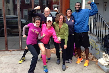 The Pub Runners meet each Tuesday at 11 a.m. for a run and happy hour.