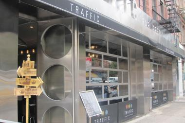 Traffic bar was shut down last week after a New York City Marshal seized it on behalf of its landlord, who filed a civil action against it.