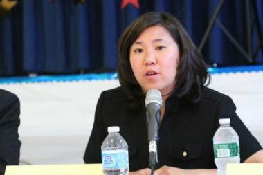 Congresswoman Grace Meng was mugged Tuesday night while walking home to her Washington, D.C., apartment, police said.