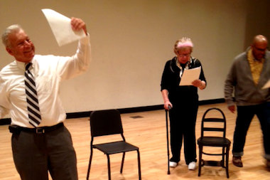 """Legislative Acts"" is a play by and about local politicians in Queens."