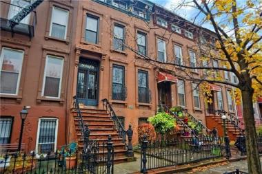Despite increased gentrification and picturesque homes like 526 Monroe St., Bed-Stuy has some of the dirtiest streets in the city, the mayor's office said.