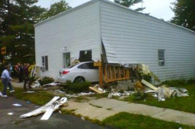 Charles Trainor, who plowed his car into a Tottenville home last year, injuring a sleeping mother and daughter, pleaded guilty to aggravated vehicular assault on Thursday, Dec. 5, 2013.