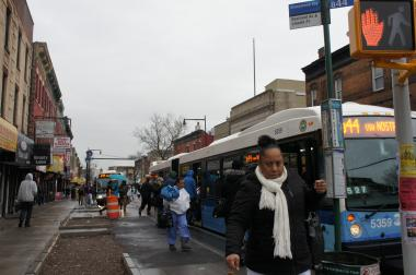Some drivers complain that uneven enforcement is making Brooklyn's first Select Bus service a nightmare for car commuters.