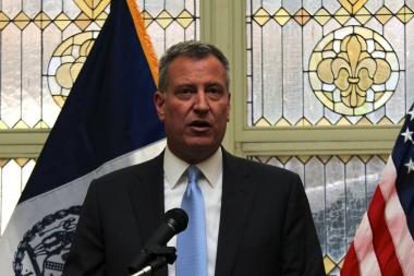 Mayor-elect Bill de Blasio called nearly two dozen council members on Monday, December 17, to express his support of Councilwoman Melissa Mark-Viverito's campaign to become the next speaker of the City Council.