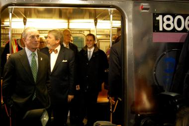 Bloomberg spoke about his legacy in his last days as mayor.