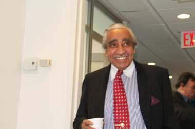 "U.S. Rep. Charles Rangel flexed when asked about his age and then offered to dance with a female reporter to prove his vigor Thursday as he announced his intention to run for a 23rd term. ""I feel so good it scares the hell out of me to be honest,"" said Rangel, 83. ""I find myself on the dance floor and doing things I haven't done in a long time."""