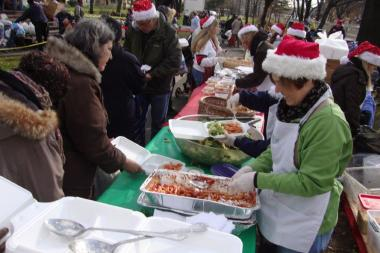 The River Fund will host its annual Christmas food and toy giveaway at Rufus King Park in Jamaica on Dec. 24.