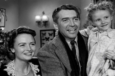 "Donna Reed (left), starred in the 1946 classic ""It's a Wonderful Life."" Reed's daughter will introduce the film on Dec. 22 at the United Palace."
