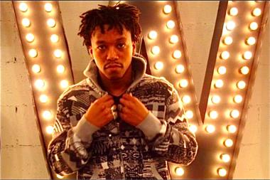 Musician Lupe Fiasco is displaying his photos in a TriBeCa pop-up art gallery in December 2013, hosted by Anonymous gallery.