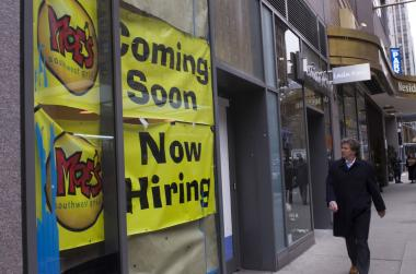 Moe's Southwest Grill is preparing to open a new location at 1029 Avenue of the Americas in Midtown.