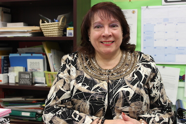 Principal of the Week Celina Napolitano, from Bed-Stuy's P.S. 23.
