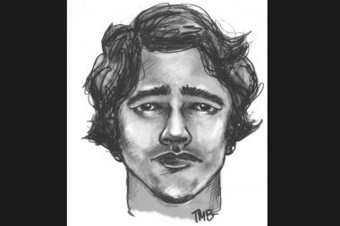A police sketch of the man who allegedly forced his way into a 20-year-old woman's apartment near Prospect Park West and Union Street and raped her on Nov. 11, 2013.