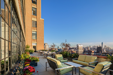 Bike racks and roof terraces will be big in 2014 commercial real estate, experts told DNAinfo New York.