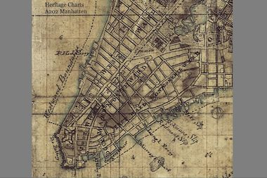 A map uncovered in an archive in the United Kingdom could offer a unique look at British-occupied New York City during a crucial chapter of the Revolutionary War, if it proves to be authentic.