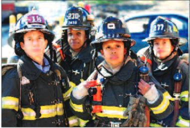 There are currently 37 female members of the FDNY, less than 1 percent of the 10,500-member force, according to the United Women Firefighters, which is working to increase their numbers.