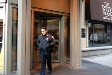 A 4-year-old boy died after being found unconscious inside The Ritz Plaza on West 48th Street Wednesday morning.