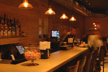 The popular restaurant has opened up in a larger, more modern spot down the street.