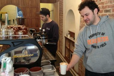 The Bed-Stuy coffeehouse's new outpost is on Havemeyer Street and South Third Street.
