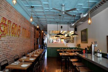 Dosa Royale, a new south Indian restaurant in Carroll Gardens, opened its doors last week.