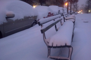 Why venture out into nine inches of snow? Stay in and enjoy DNAinfo New York's snow day soundtrack.