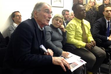 Exponents founder Howard Josepher defended his substance abuse treatment center before a crowded CB1 meeting.