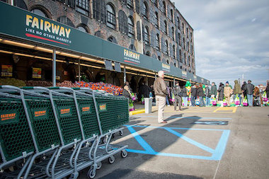 Fairway's Brooklyn store is located at 480 Van Brunt St. in Red Hook.