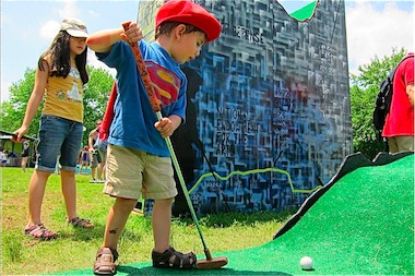 FIGMENT art festival is calling for proposals for its Governors Island minigolf course for the 2014 summer season.
