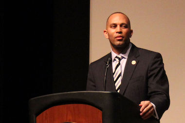 "U.S. Rep. Hakeem Jeffries called gentrification a ""malignant tumor"" at his first State of the District address."