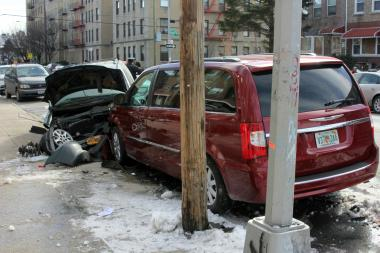 One man died after a car crash in Astoria Tuesday morning.