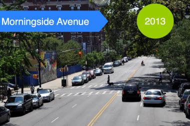 A new video showing cars traveling up to 17 miles per hour above the city's speed limit on Morningside Avenue in Harlem is helping to renew a push for changes to the street. The Department of Transportation has proposed a series of changes to make the street safer.