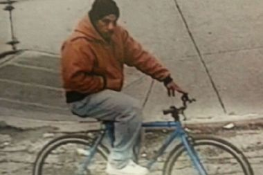 Police said a man riding a light blue mountain bike robbed two elderly women in Queens.