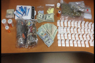 Police arrested nine people on Staten Island who allegedly sold prescription drugs and heroin.
