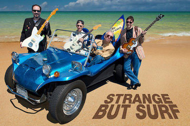 The surf rock band will be playing warm-weather tunes all night.