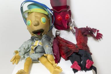 """Snonkey and Eli Do 10th Avenue""  will tell the tale of Moritz Rabinowitz, a Jew living in pre-war Poland using puppets made by Kirjan Waage."