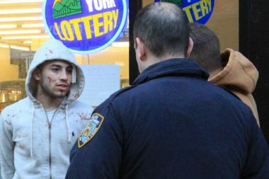 Jason Hernandez, 18, was injured during a fight in front of a 7-11 on West 14th Street Monday afternoon, Feb. 10, 2014.