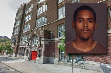 Police tracked Brandon Senquiz with social media and arrested him for cutting a school custodian, the NYPD said.