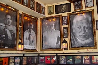 The walls of the old Chumley's were lined with photos of the literary greats that were rumored to have imbibed at the speakeasy.