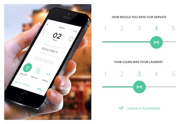 Cleanly offers pickup and delivery services with the help of a mobile app.