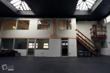 The new Court Square Studios includes 3,500-square-feet of rental space.