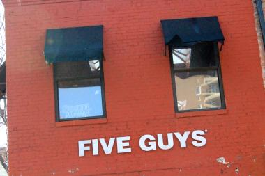 Bleecker Heights Tavern is located above the Five Guys on the corner of Bleecker and Seventh Avenue.