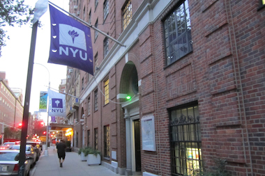 The coach of the NYU Triathlon Club was told to return money and gift cards his athletes gave him, a school spokesman said.